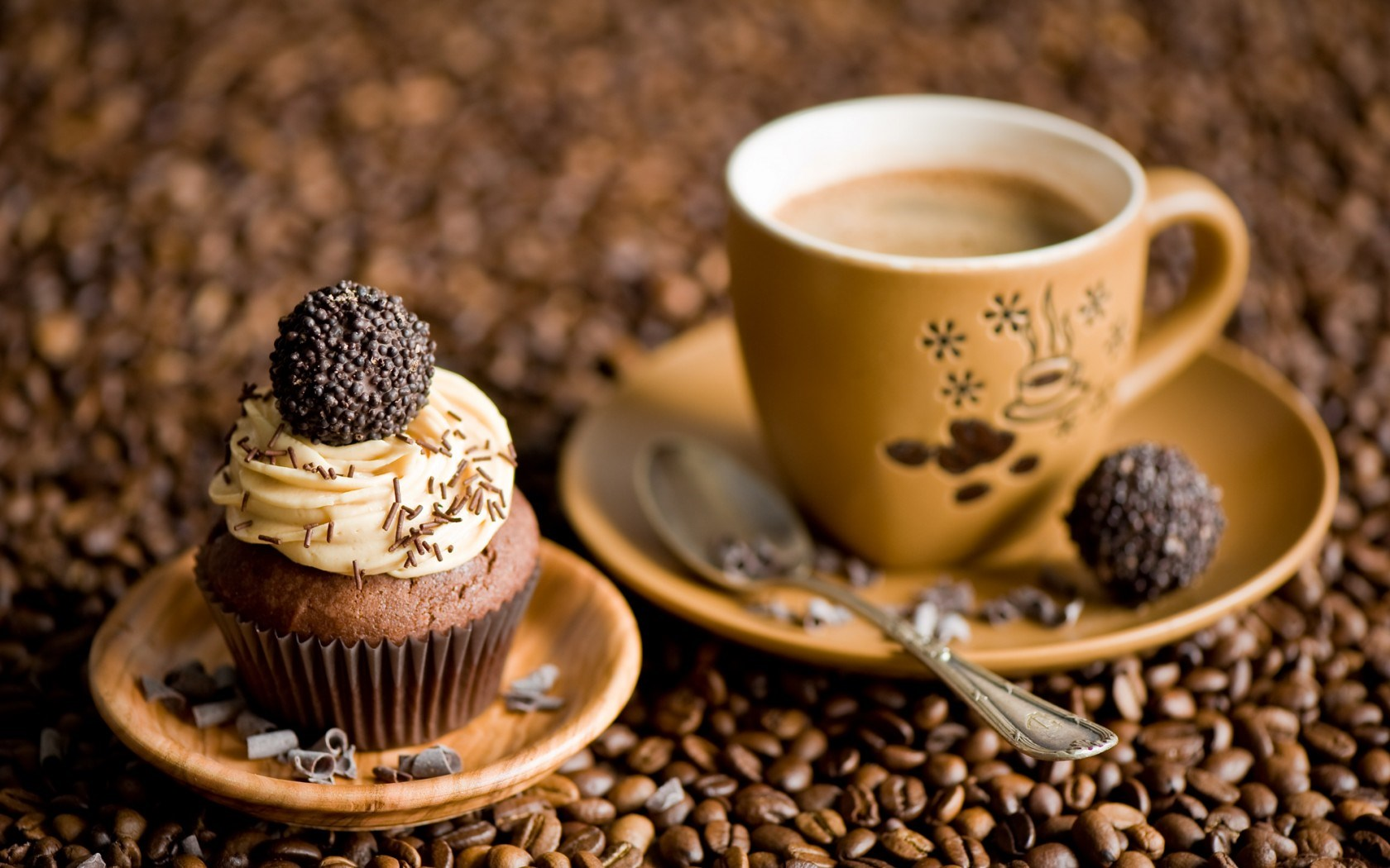 Cupcakes Coffee Beans