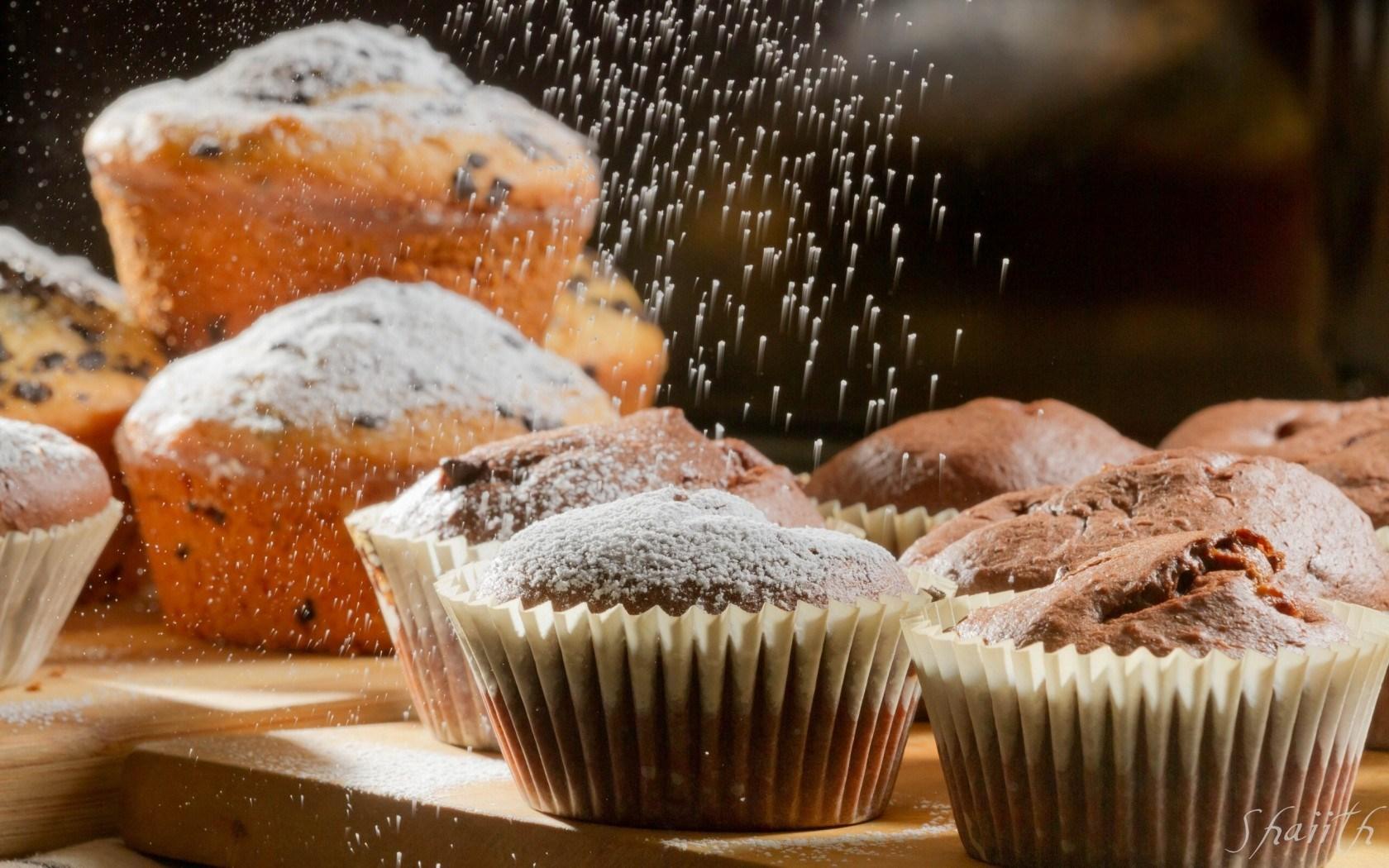 Cupcakes Icing Sugar Baking