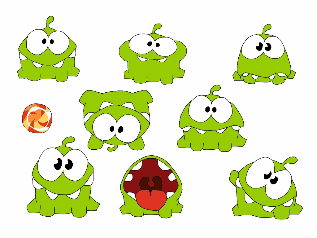 Cut the Rope: Om Nom by Dizzydazy