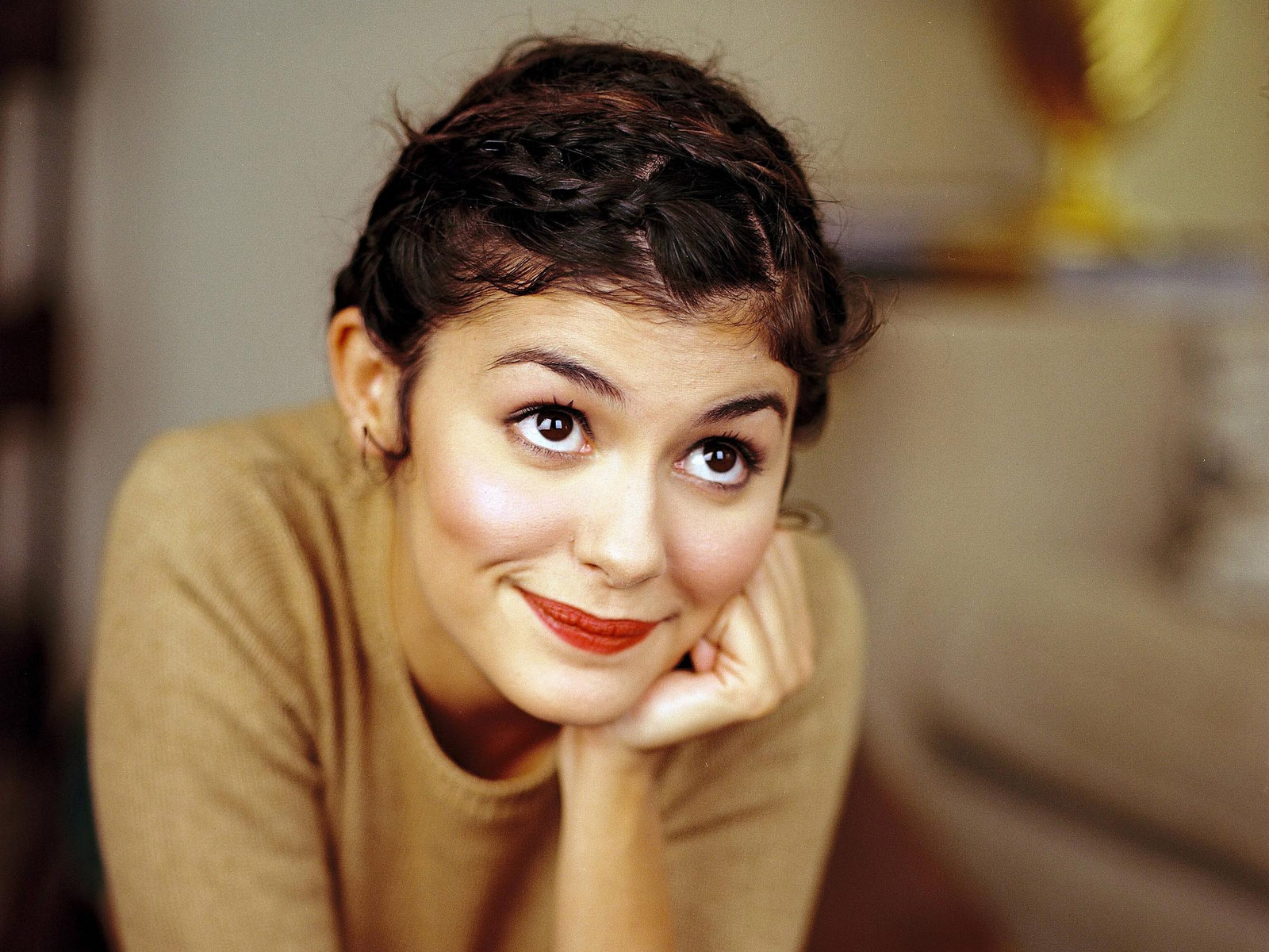 Cute Audrey Tautou