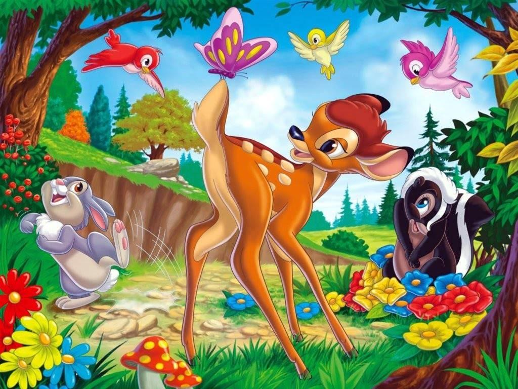 Cute Bambi Wallpaper