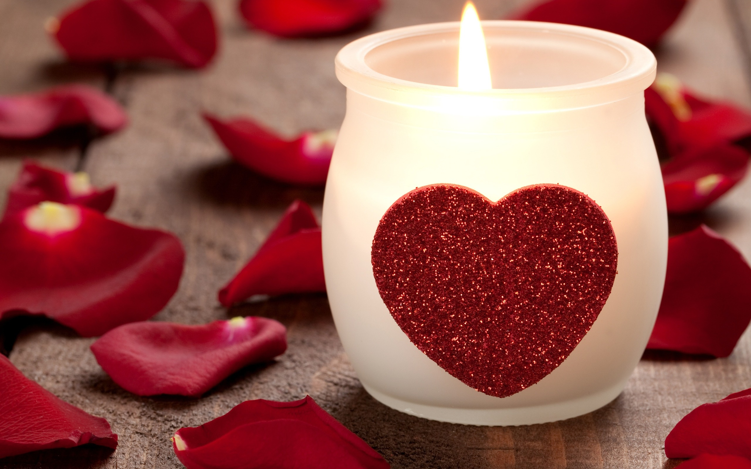 Cute Candle Wallpaper