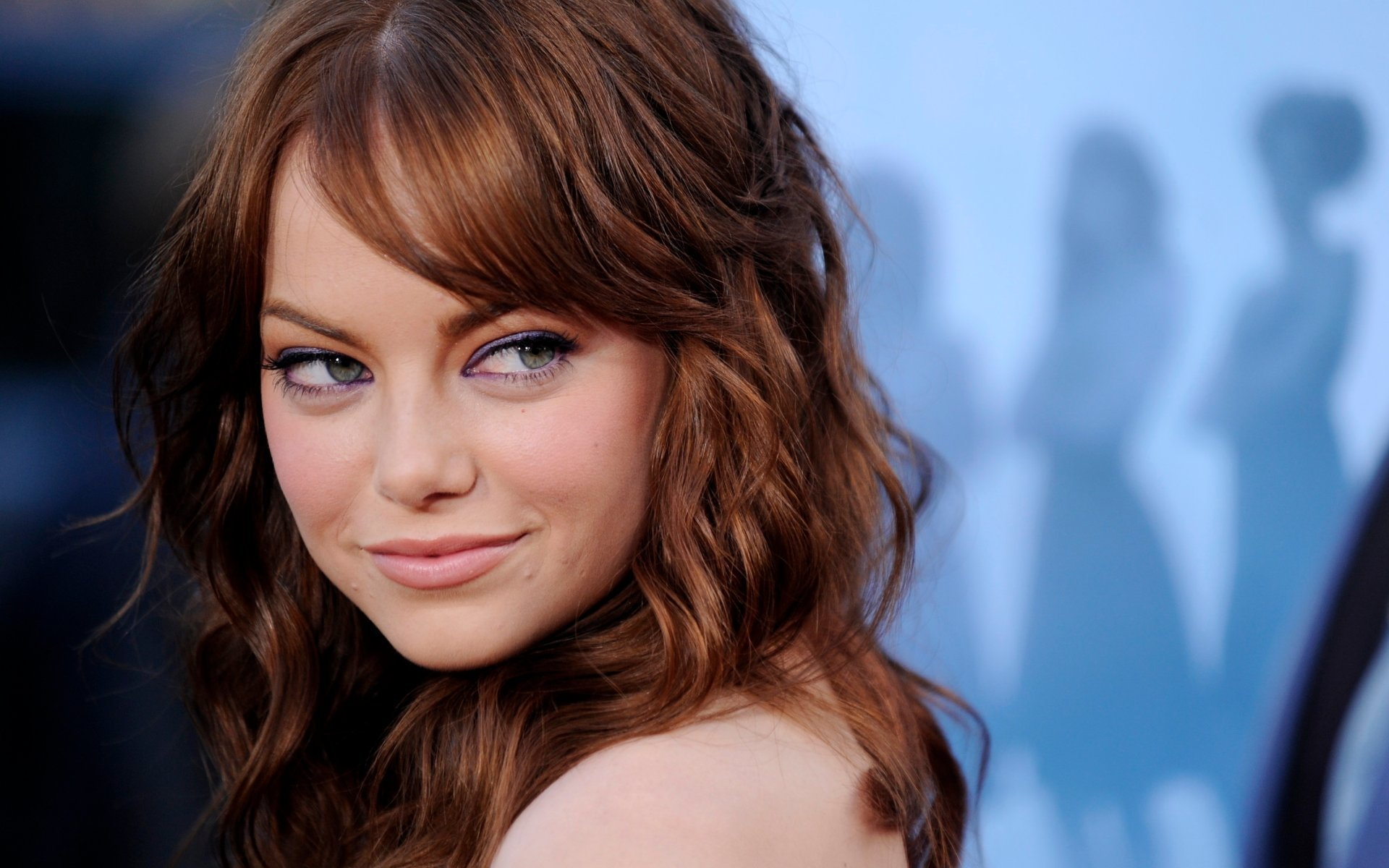 Emma Stone wallpaper screensaver hd desktop background hollywood celeb star