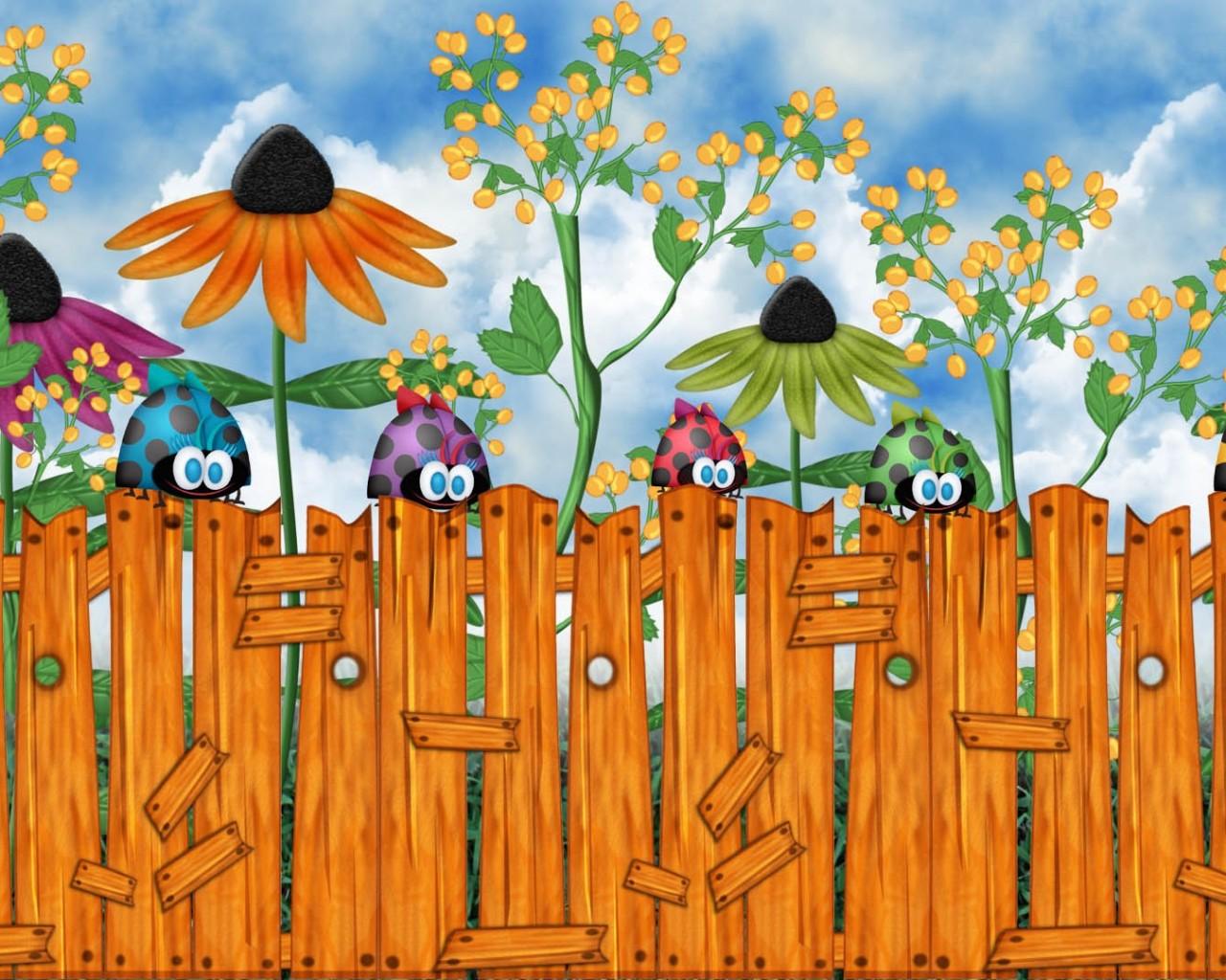 Cute Fence 31694 1920x1200 px