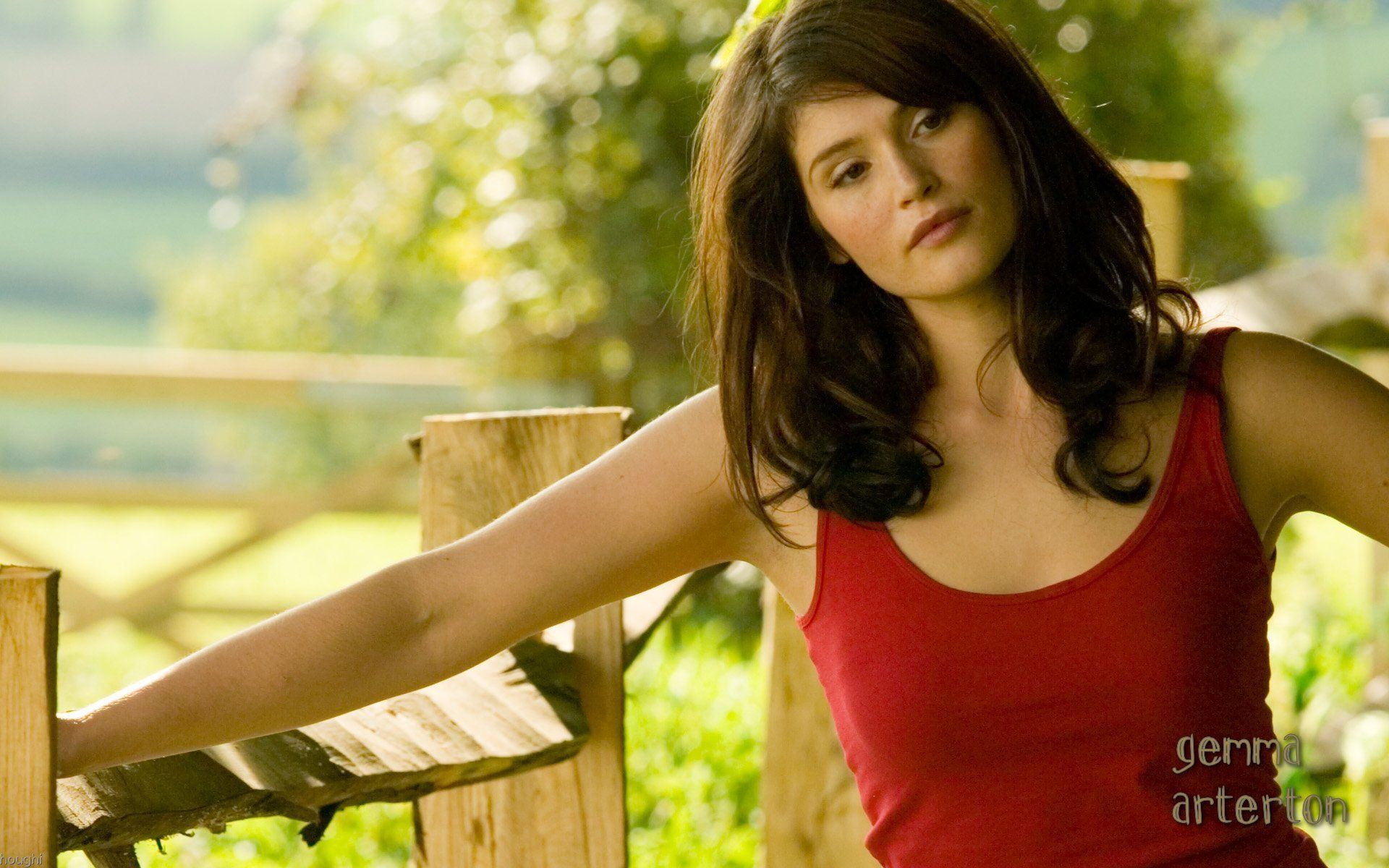 Cute Gemma Arterton Wallpaper
