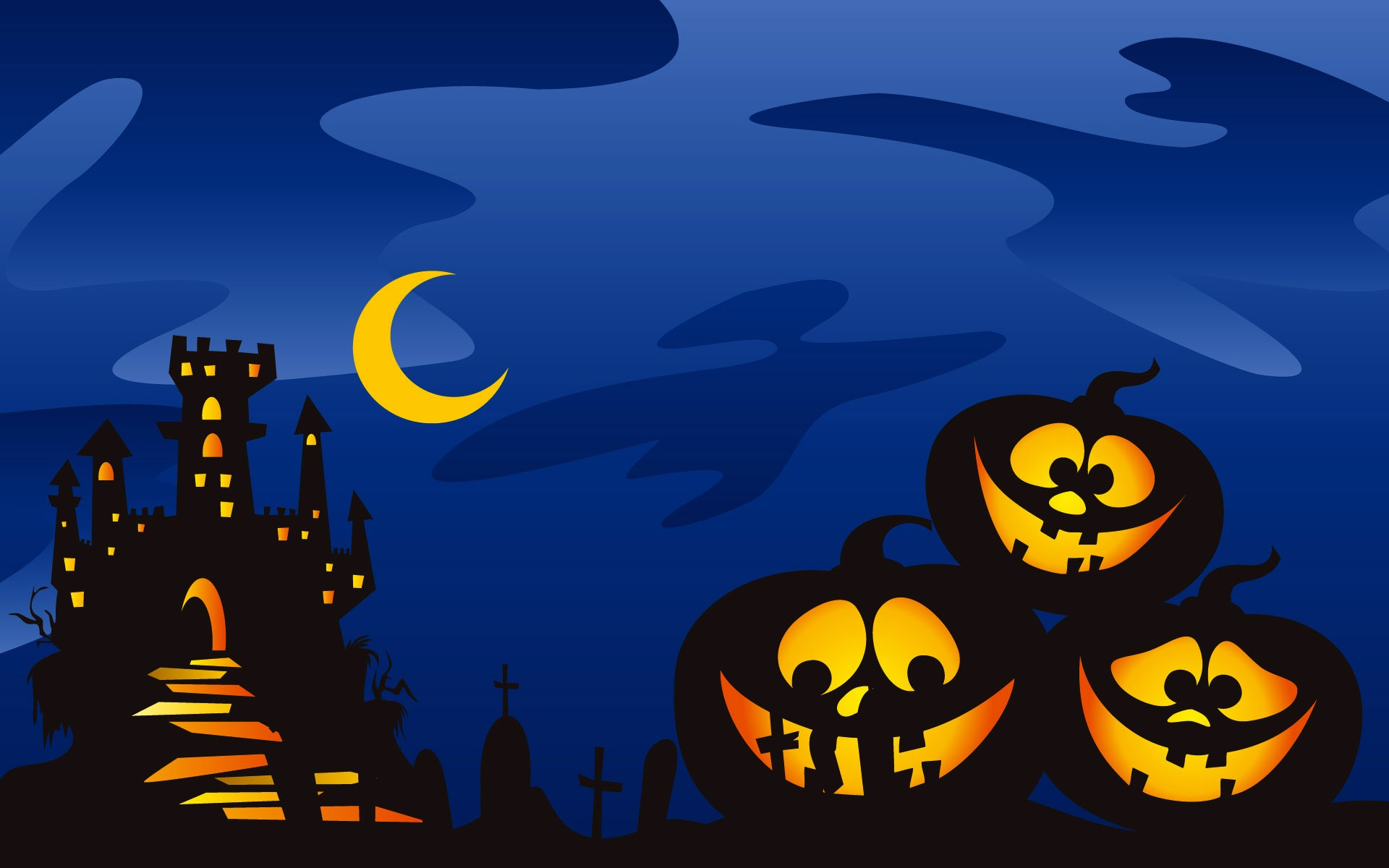 Cute Halloween Screensavers wallpaper | 1920x1200 | #26359