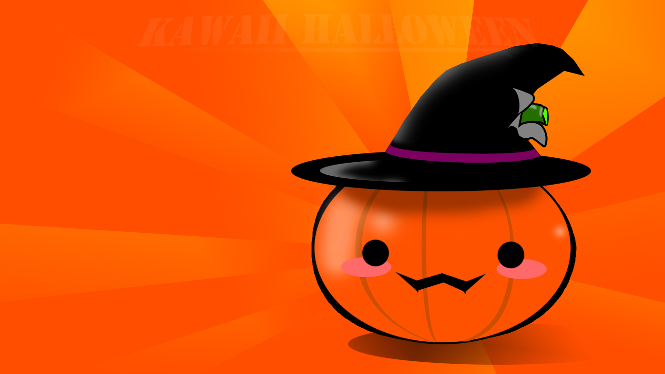 Hdwallpaperhd Wallpaper Disney Cute Halloween Clipart Free Happy Design Ideas Wallpapers Image 1366x768px
