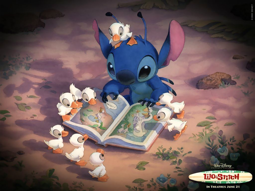 Cute Lilo and Stitch Wallpaper