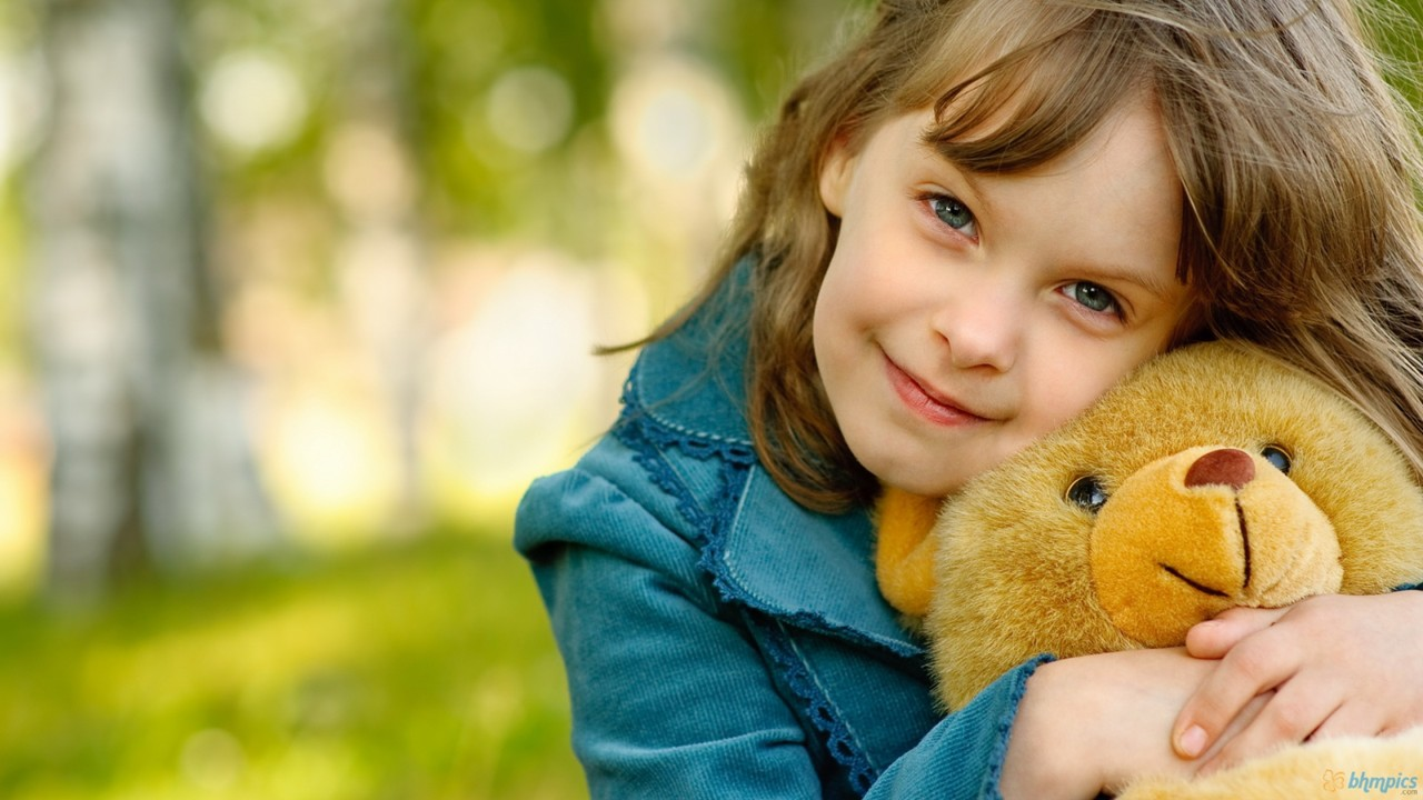 cute little girl hd wallpapers teddy