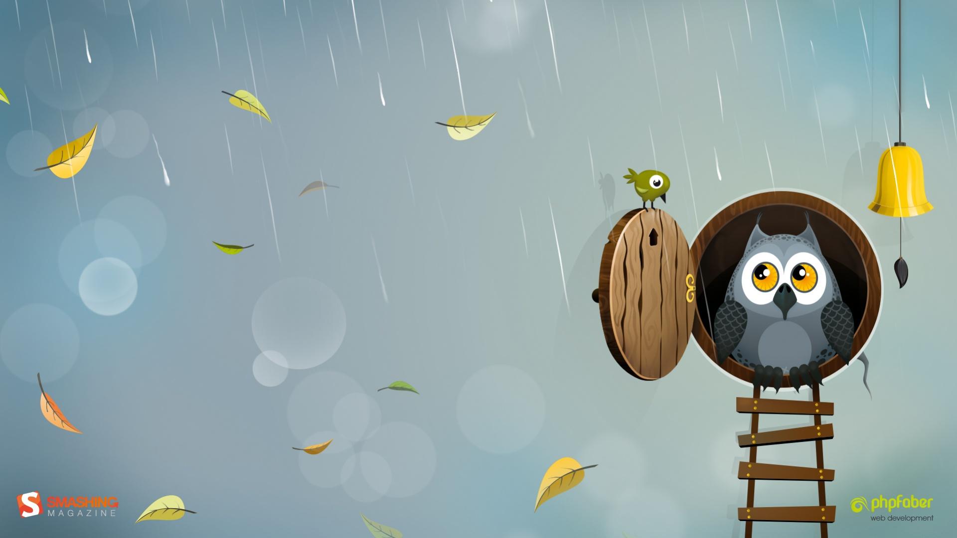 Owl Desktop Wallpaper
