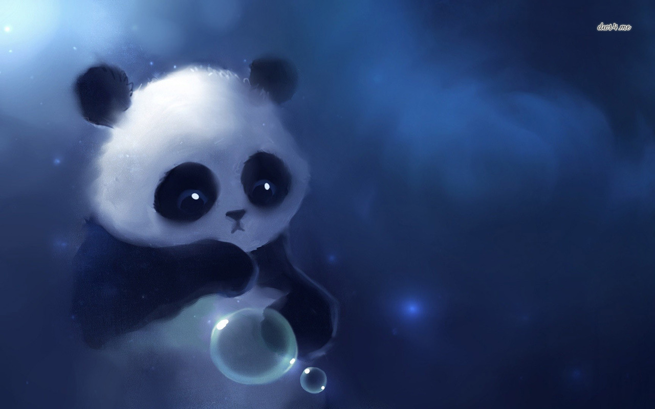 Cute Panda Wallpaper 1280x800 45998