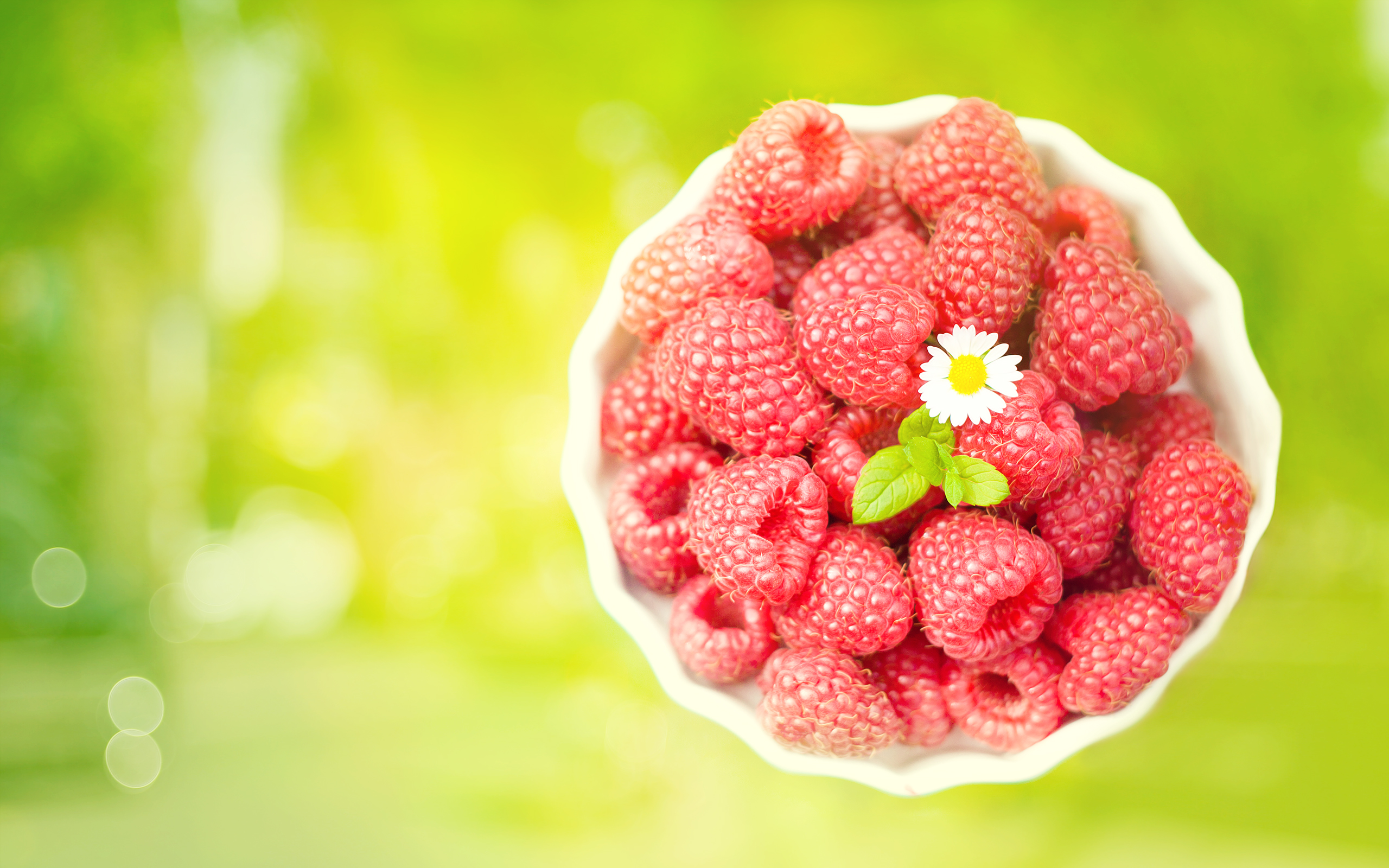Cute Raspberries Wallpaper