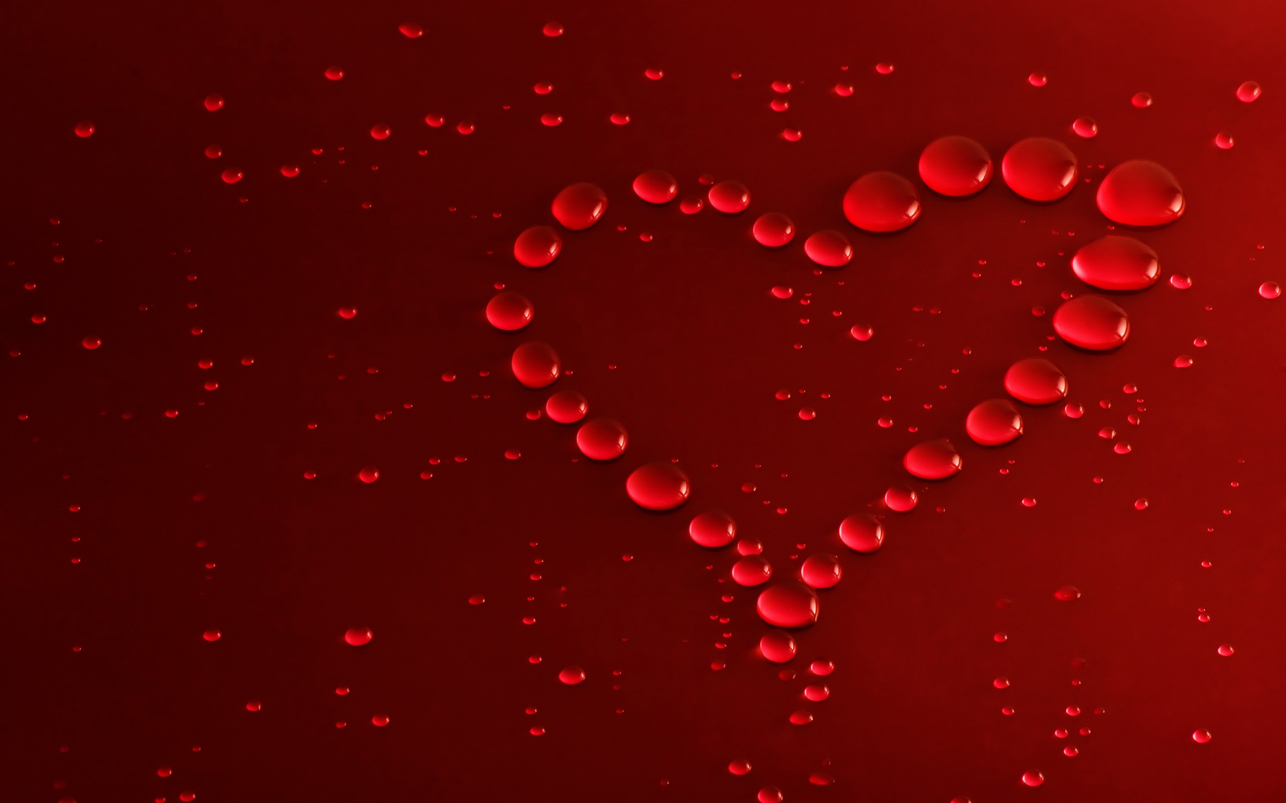 Cute Red Bubbles