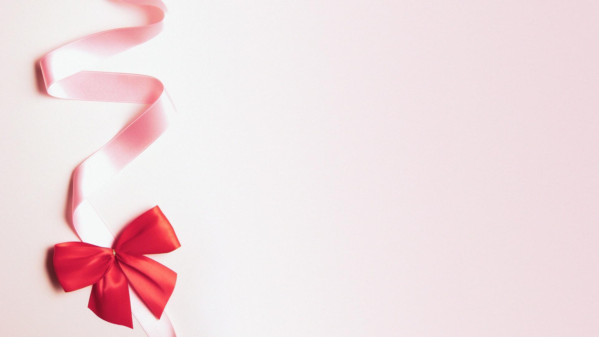 Cute Ribbon Wallpaper