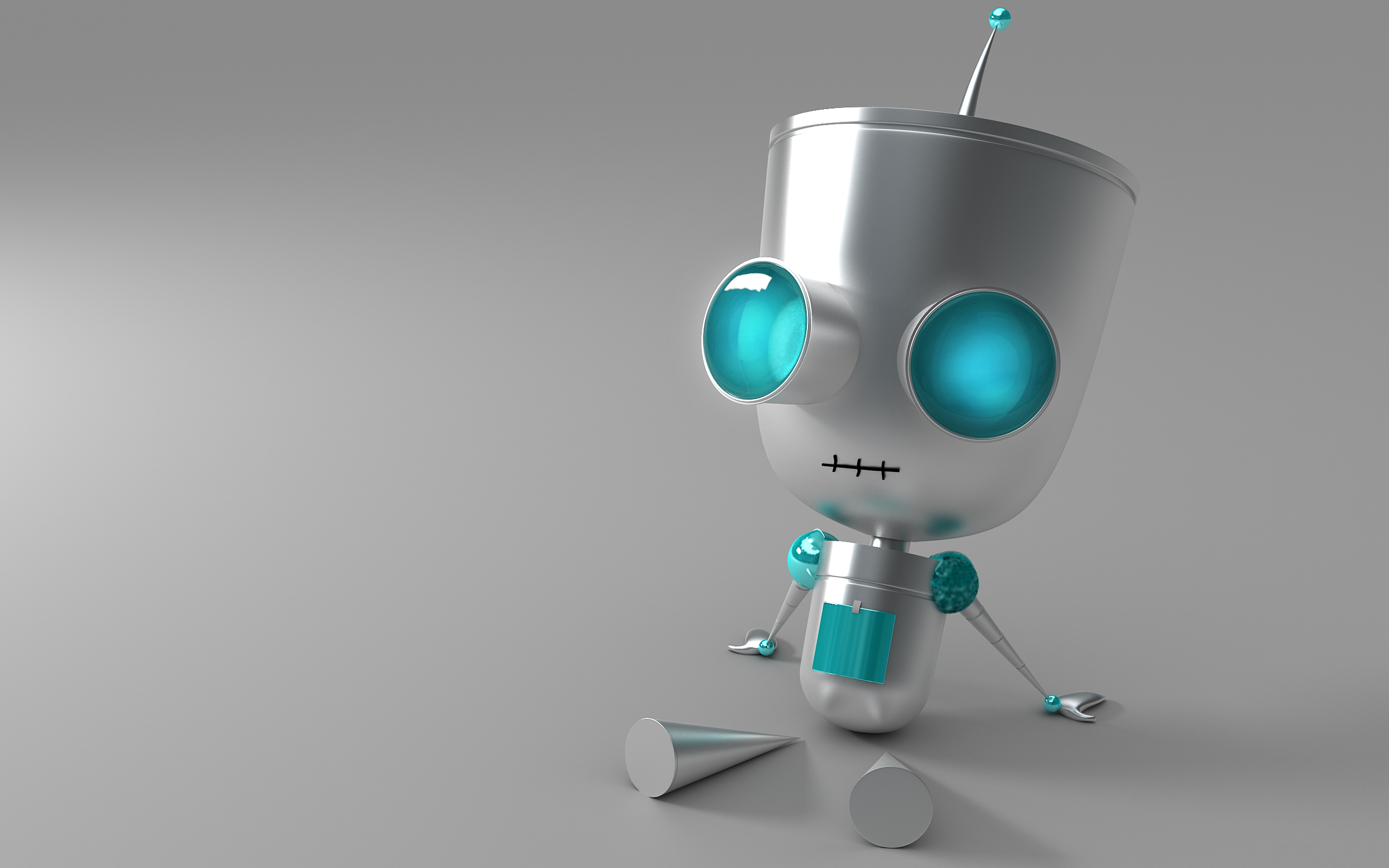 Cute Robot Wallpaper