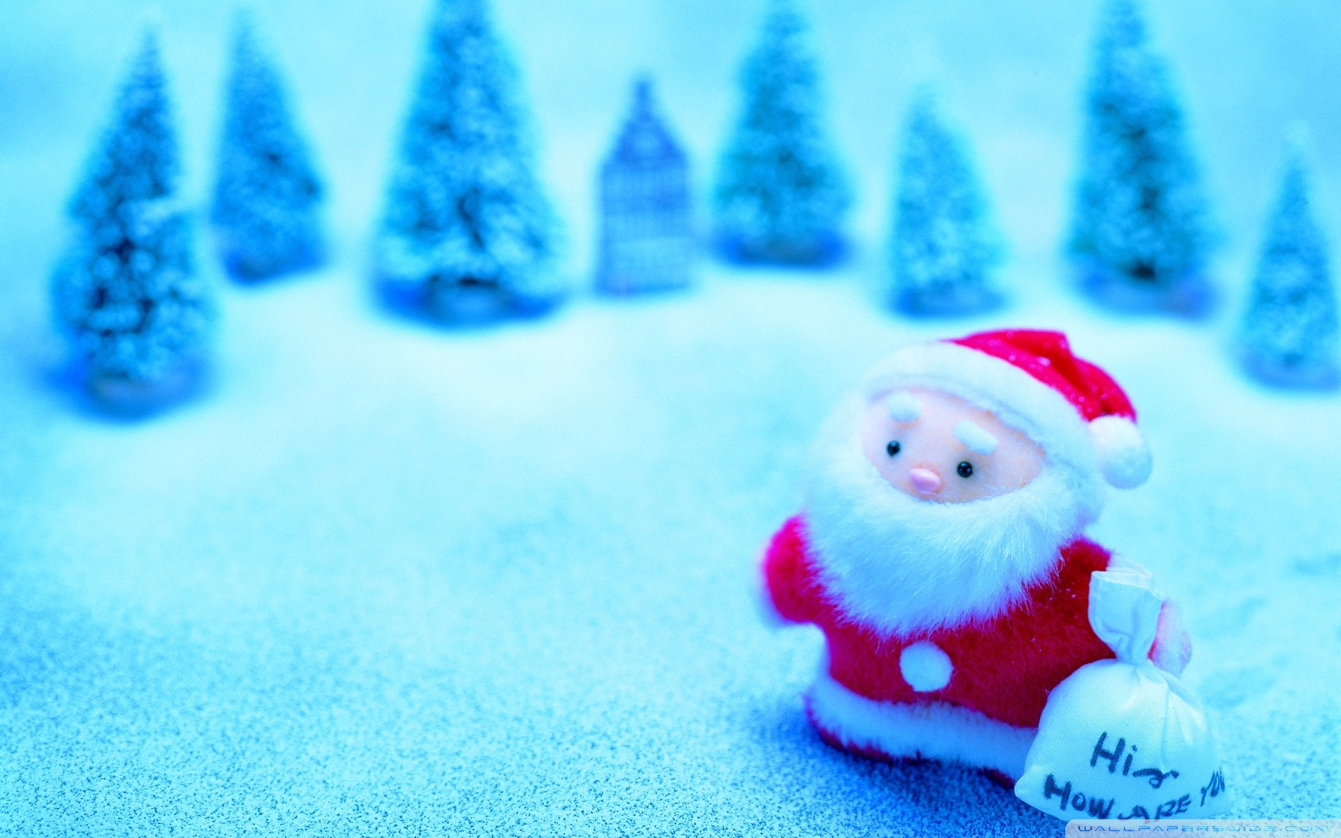 Cute Santa Wallpaper