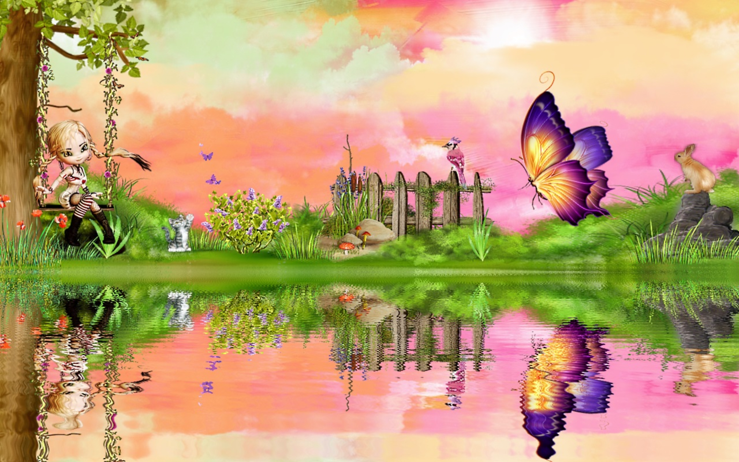 Wallpaper 3d Spring Wallpaper: Wallpapers for Gt Cute Spring Wallpaper Backgrounds Xpx 2560x1600px