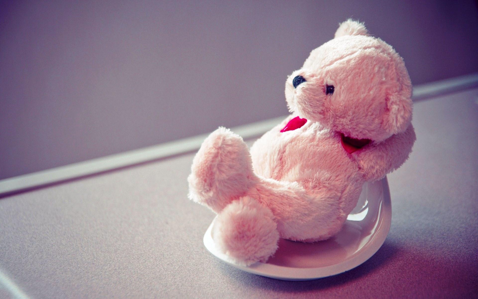 Cute Love Teddy Bear Wallpaper Art