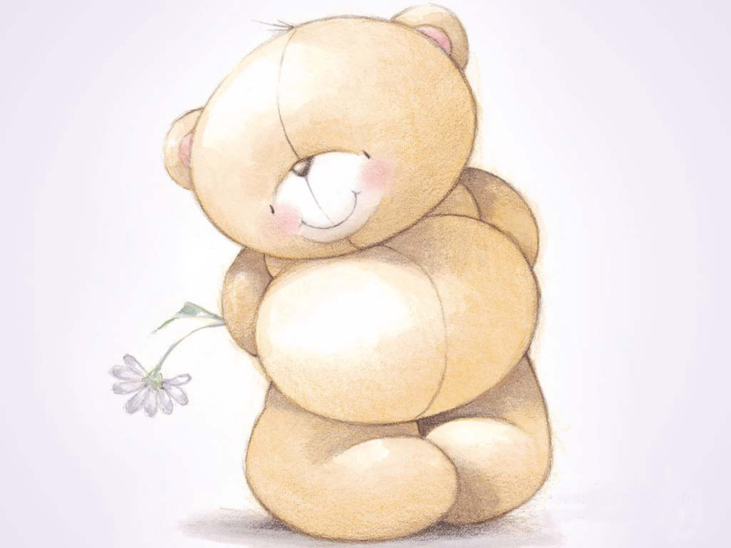 cute teddy bears cartoon 1