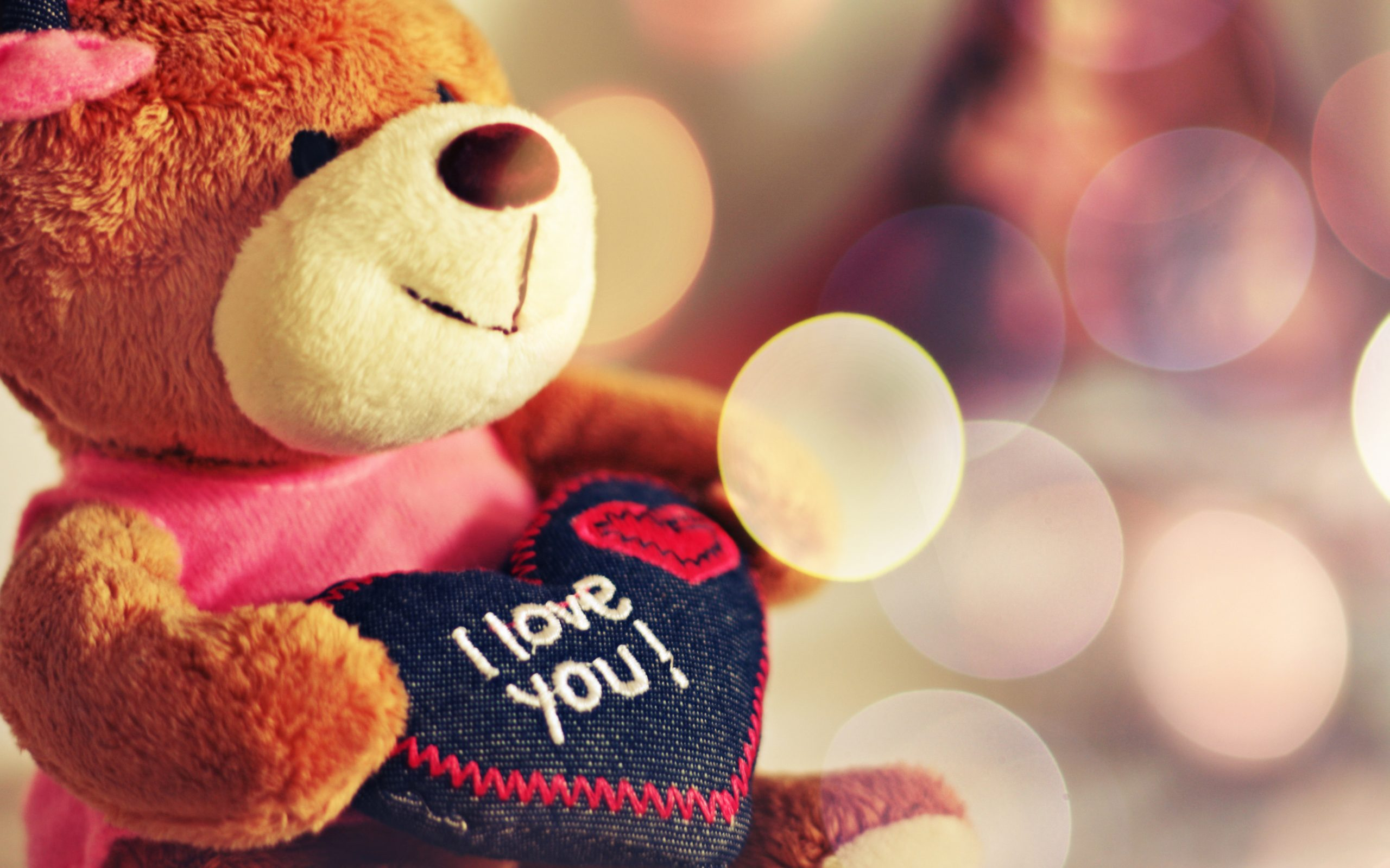 Cute Love Teddy Bear 1