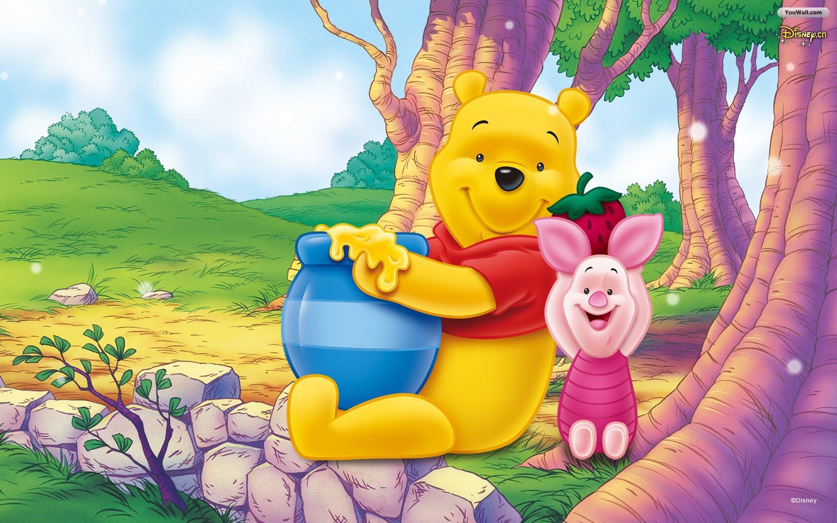 Cute Winnie The Pooh Wallpaper