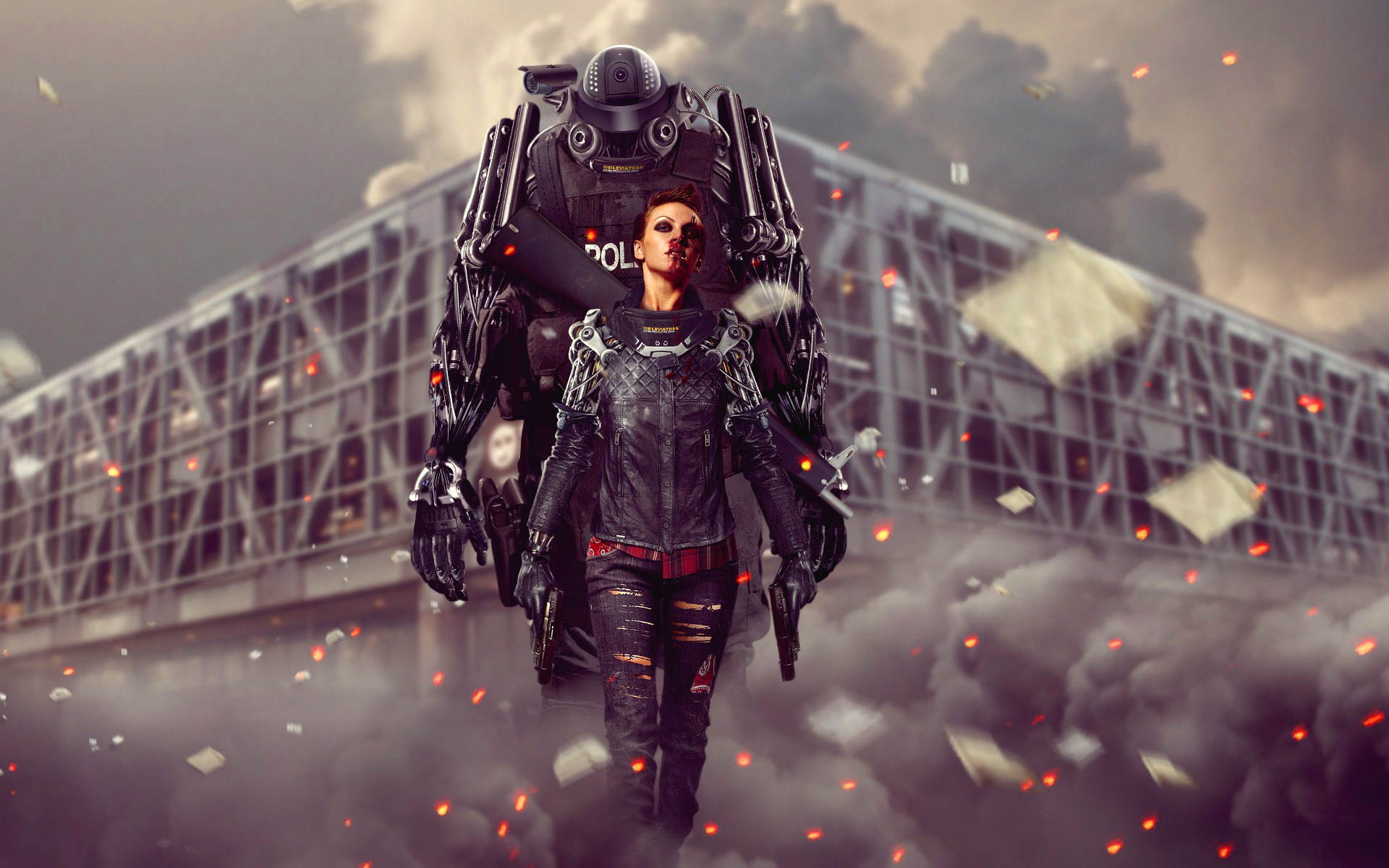 Cyborg police Wallpapers Pictures Photos Images · «