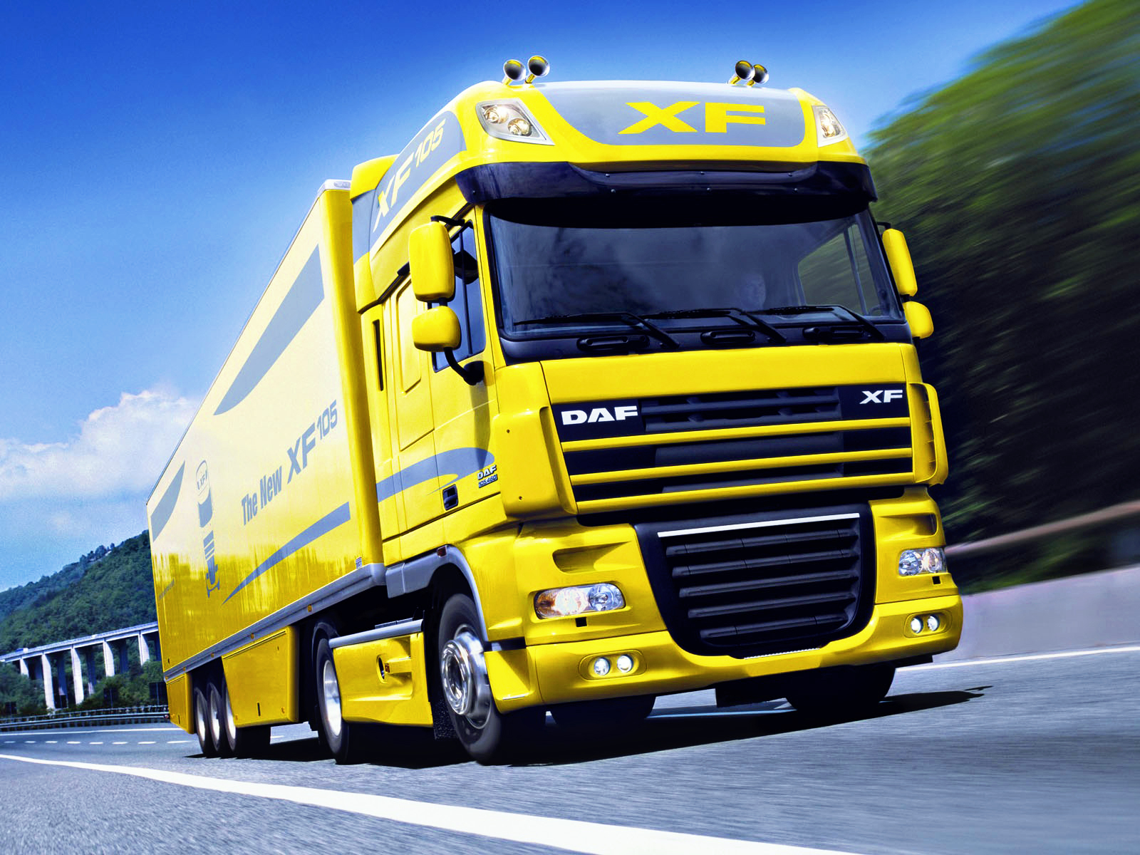 DAF XF 2013 - Truck wallpapers - Wallp.eu