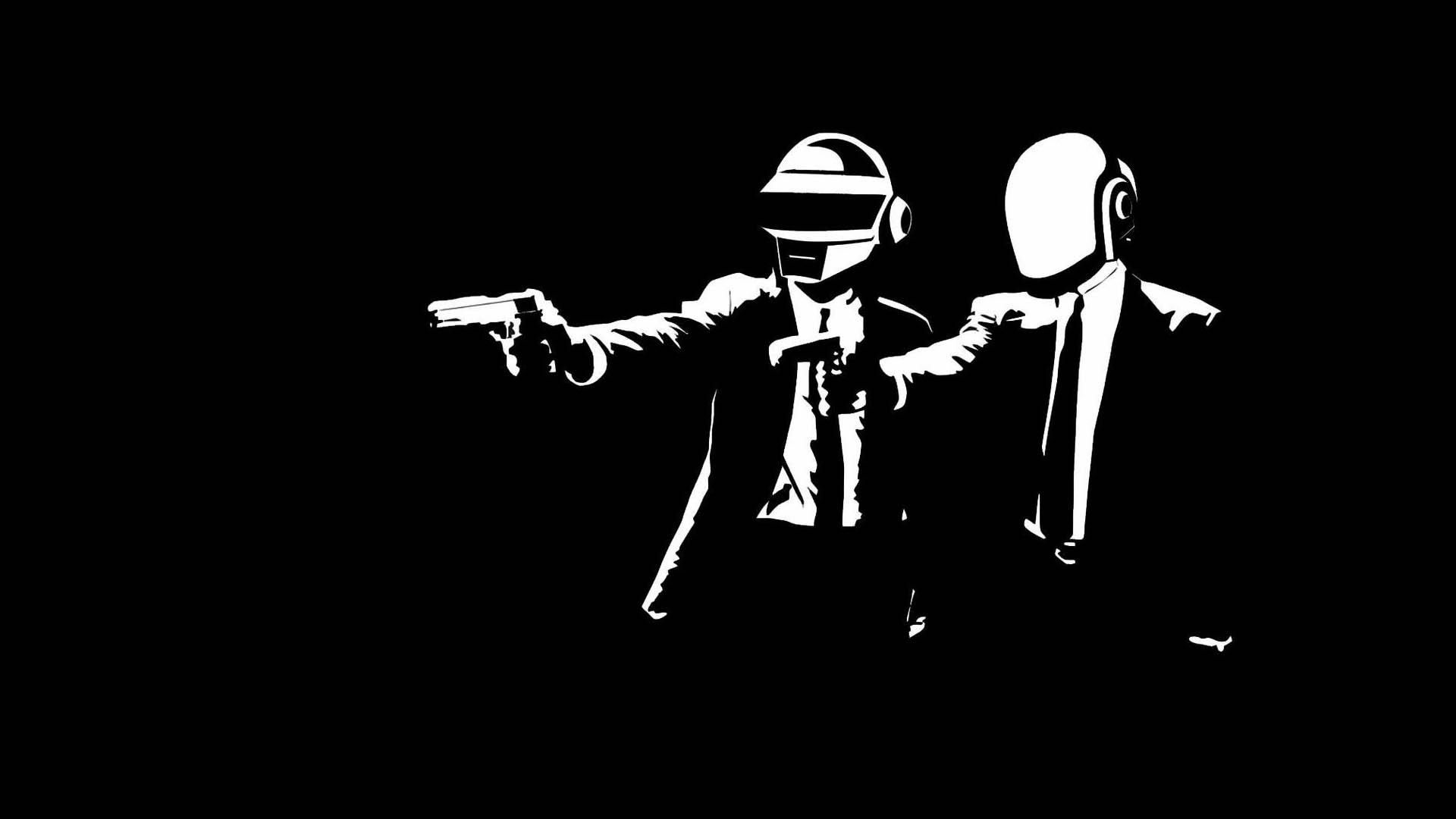 Daft Punk backdrop wallpaper