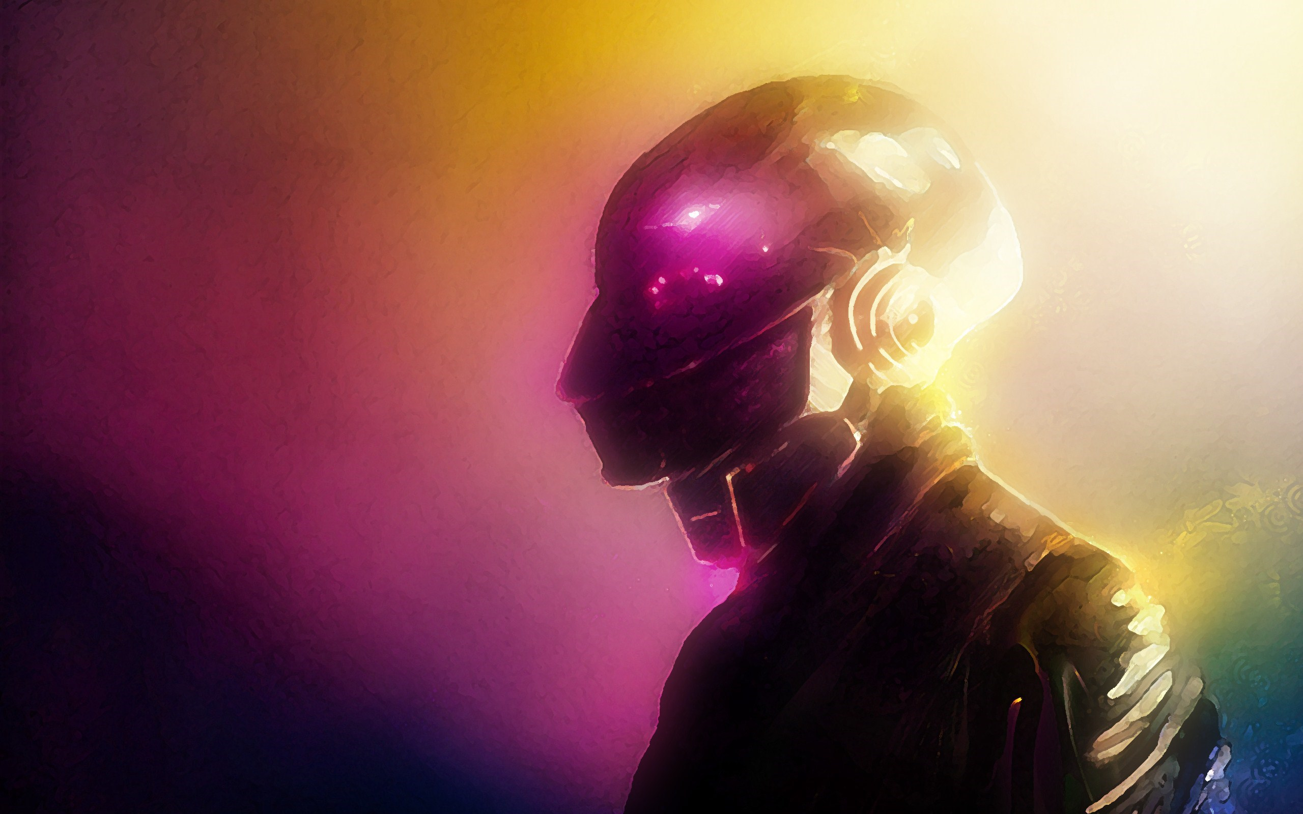 Daft Punk Music Artwork