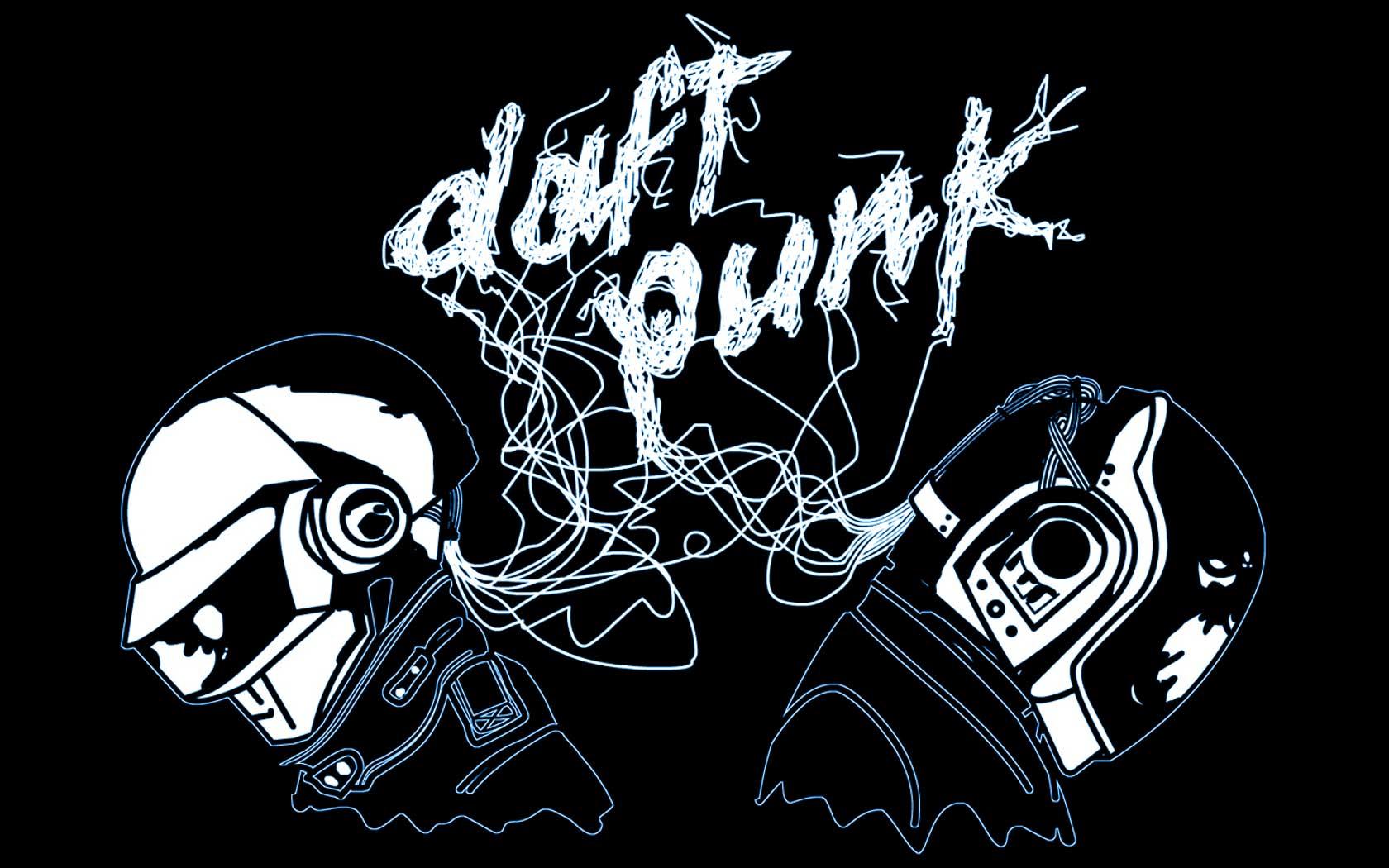 ... Inspiring Daft Punk Wallpapers): 1680 × 1050