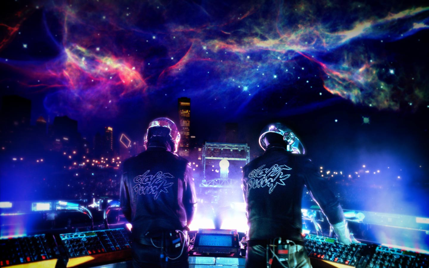 Desktop Wallpaper Celebrities Music Daft Punk Electronic 1440x900px