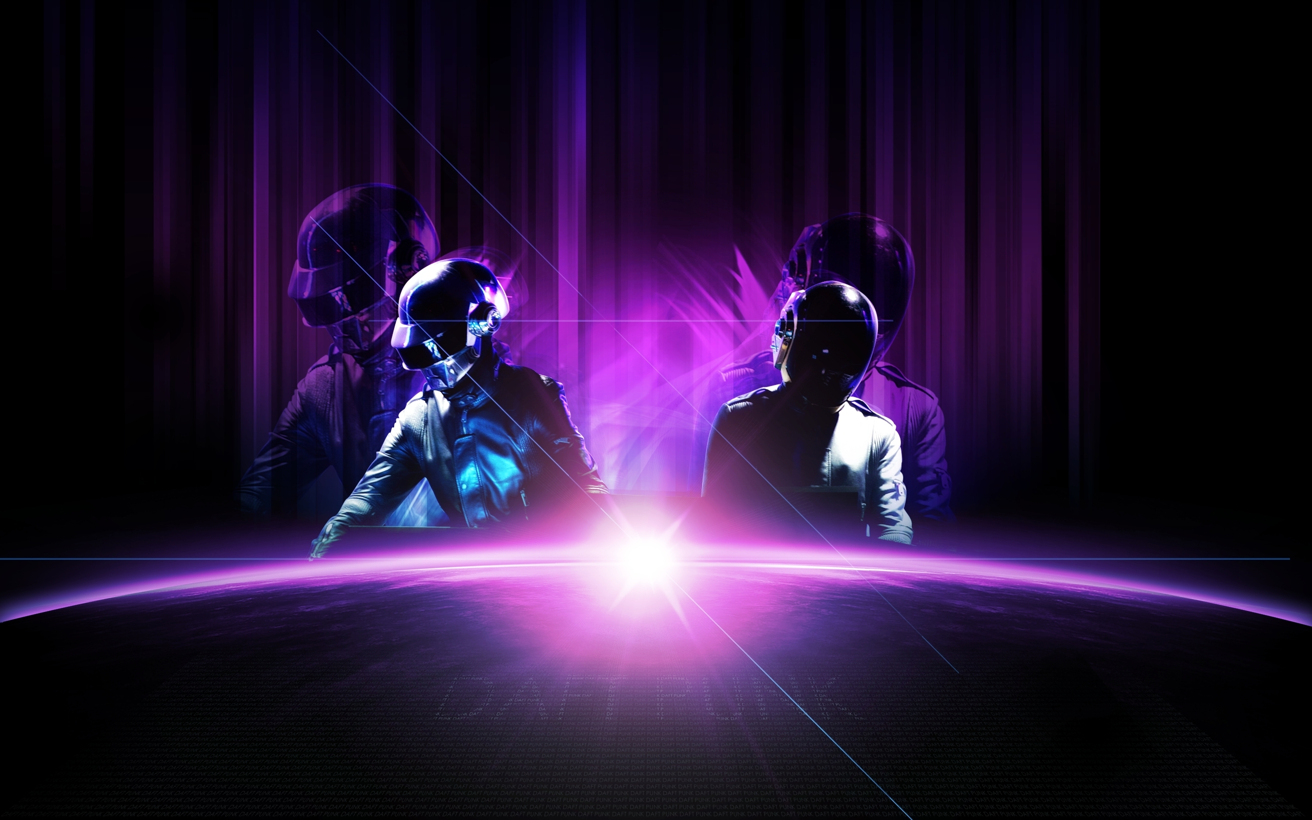 HD Wallpaper | Background ID:77328. 2560x1600 Music Daft Punk