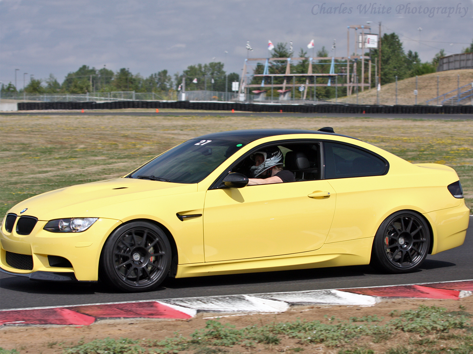 Dakar yellow bmw m3 photo