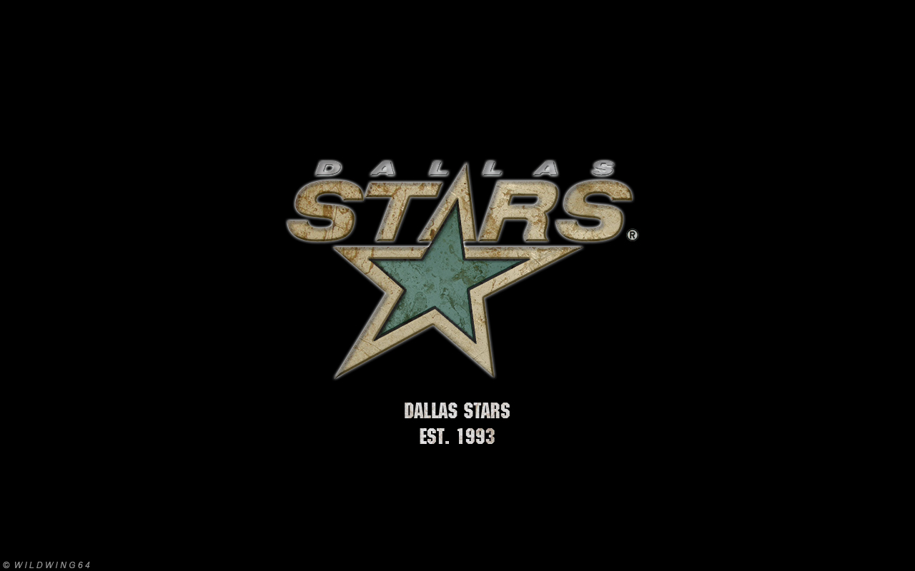 ... Dallas Stars - Metallic logo wallpaper by wildwing64
