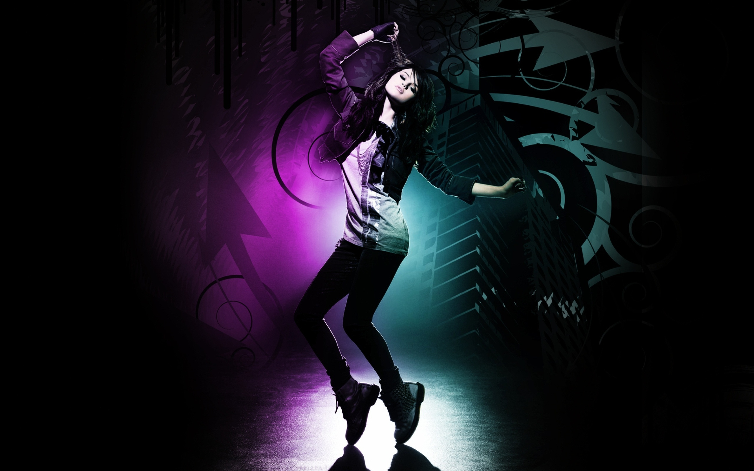 Dance Wallpaper Selena Gomez 13860