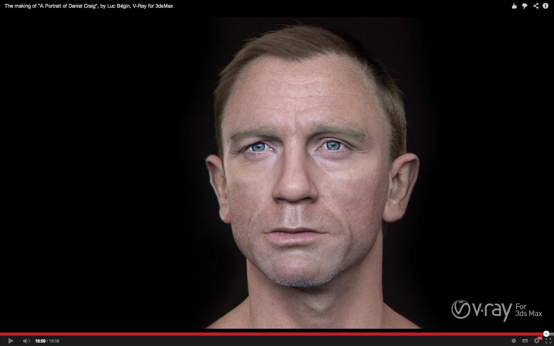A Portrait of Daniel Craig