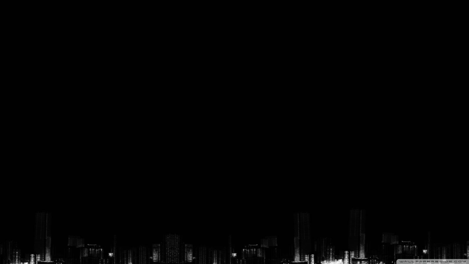 1600x900 black desktop wallpaper - photo #2