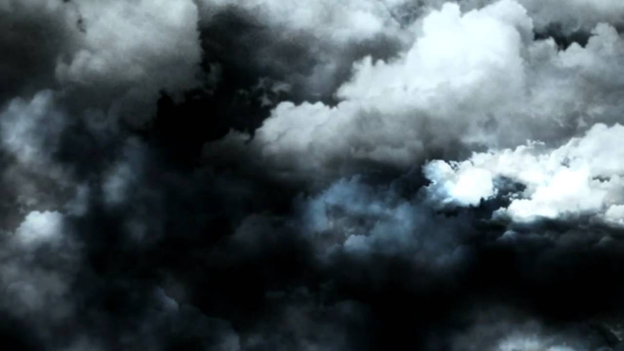 Videohive Dark clouds - Stock footage