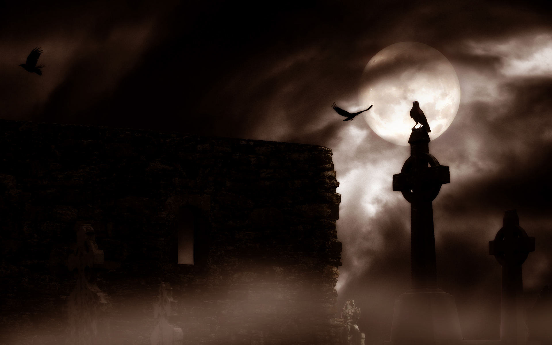 Dark Gothic Wallpaper 4265