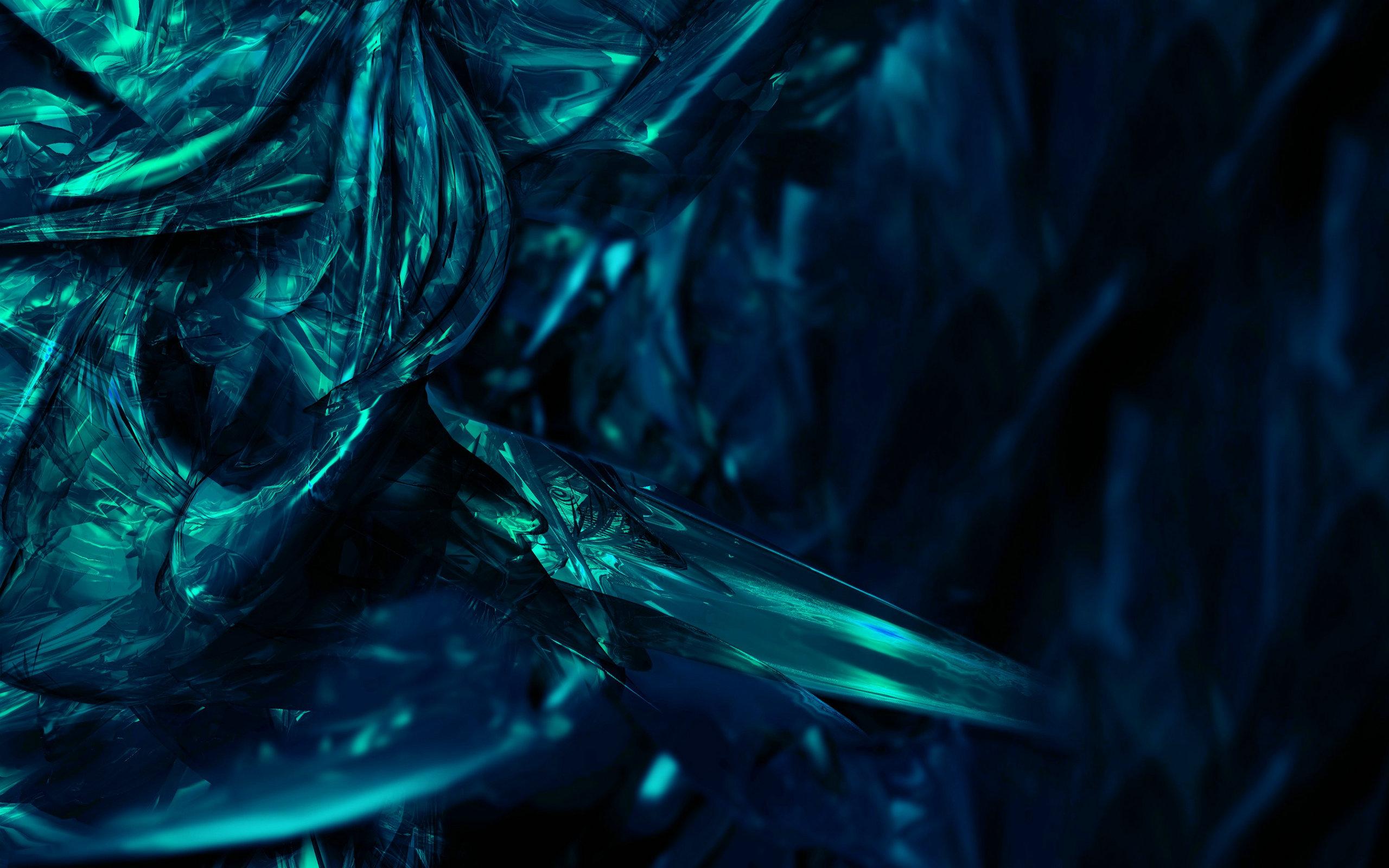 Dark Ice Wallpaper