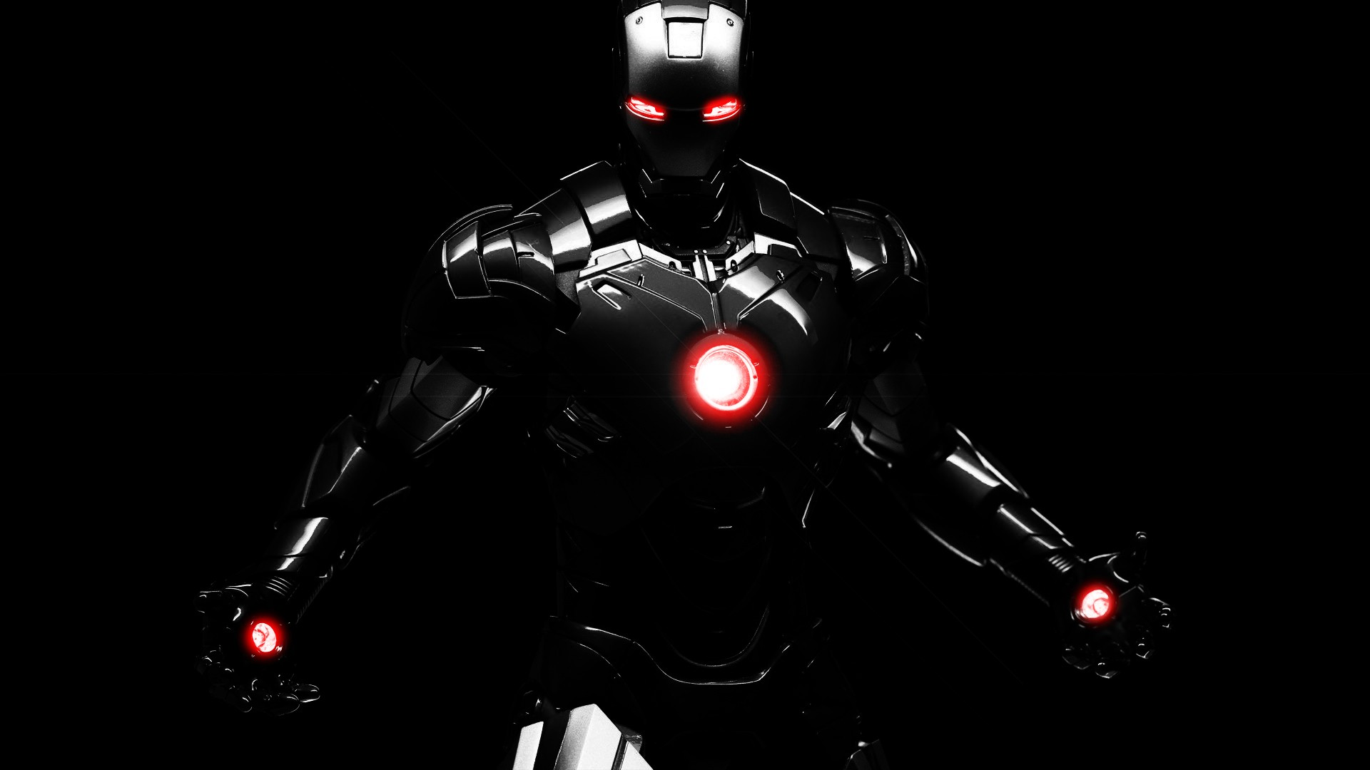 Dark iron man