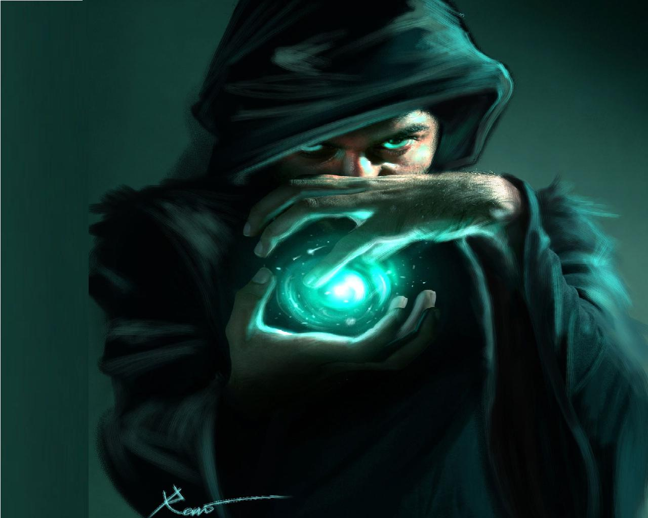 Dark Wizard Wallpaper