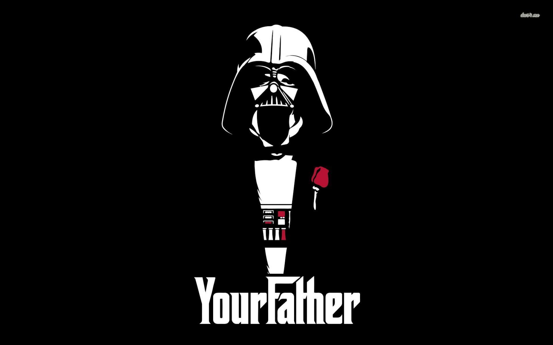 ... Darth Vader Godfather crossover wallpaper 1920x1200 ...