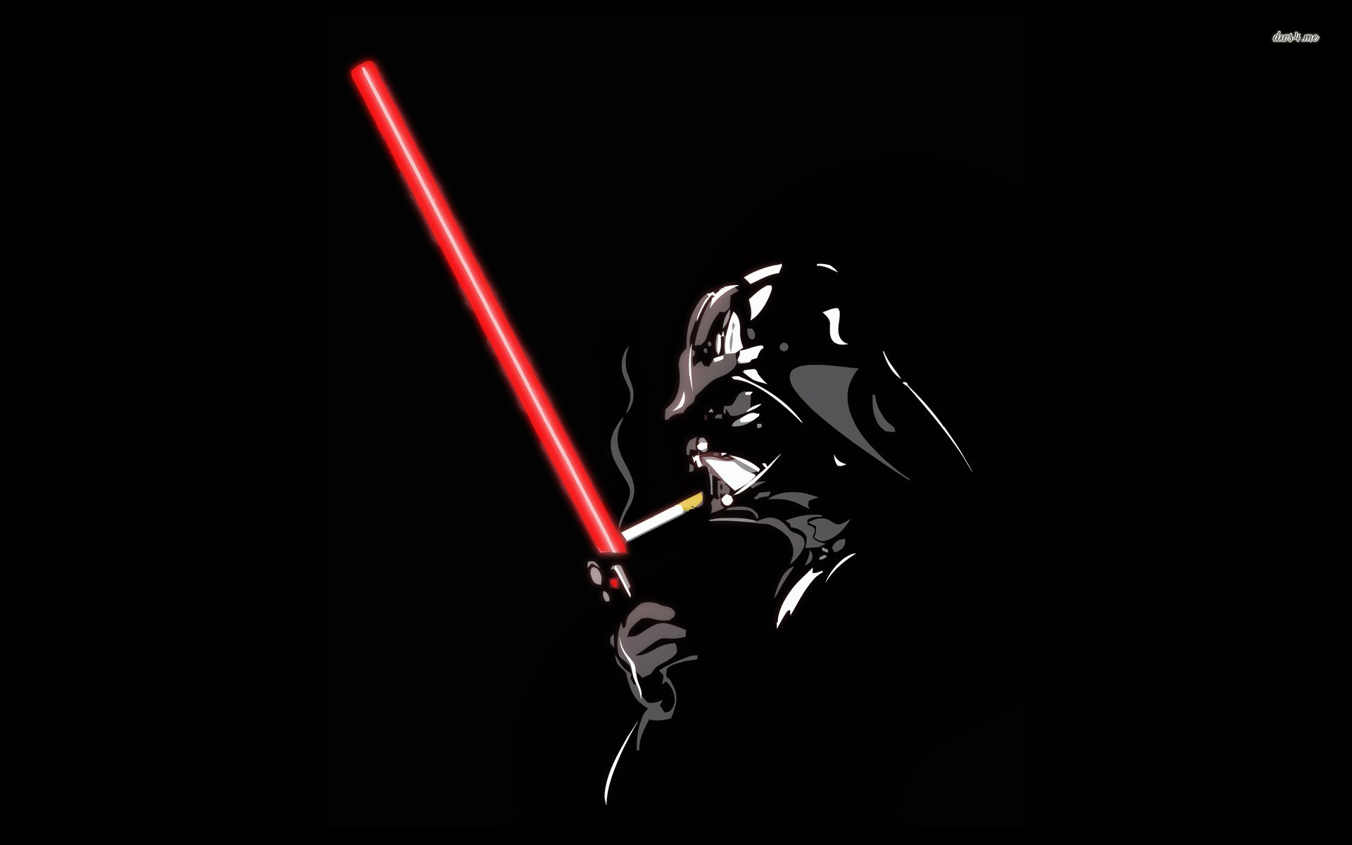 ... Darth Vader and his lightsaber wallpaper 1920x1200 ...