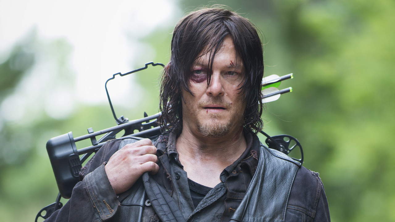 Norman Reedus as Daryl Dixon - The Walking Dead _ Season 5, Episode 2 -