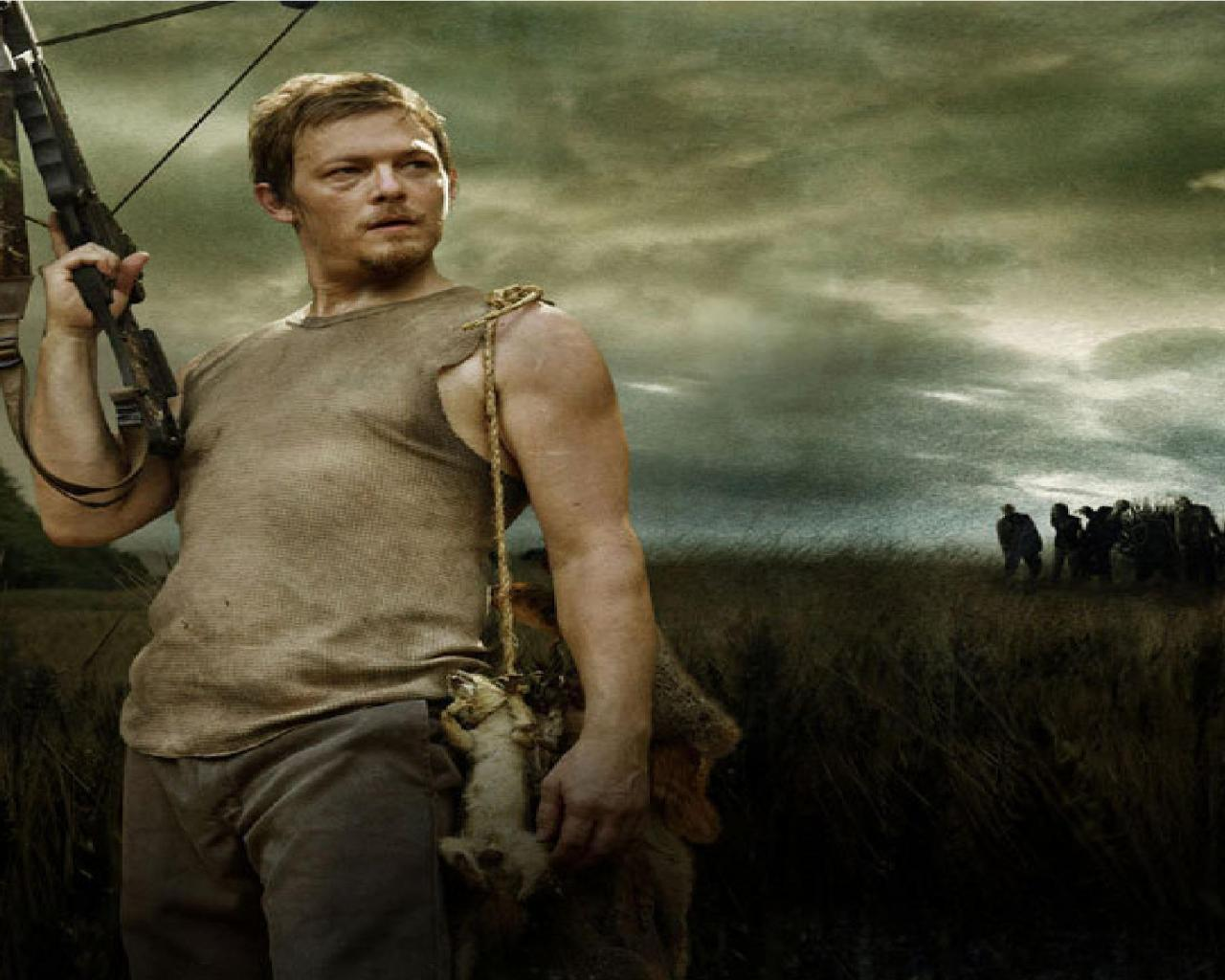 Wallpaper Tags: the walking dead field crossbow