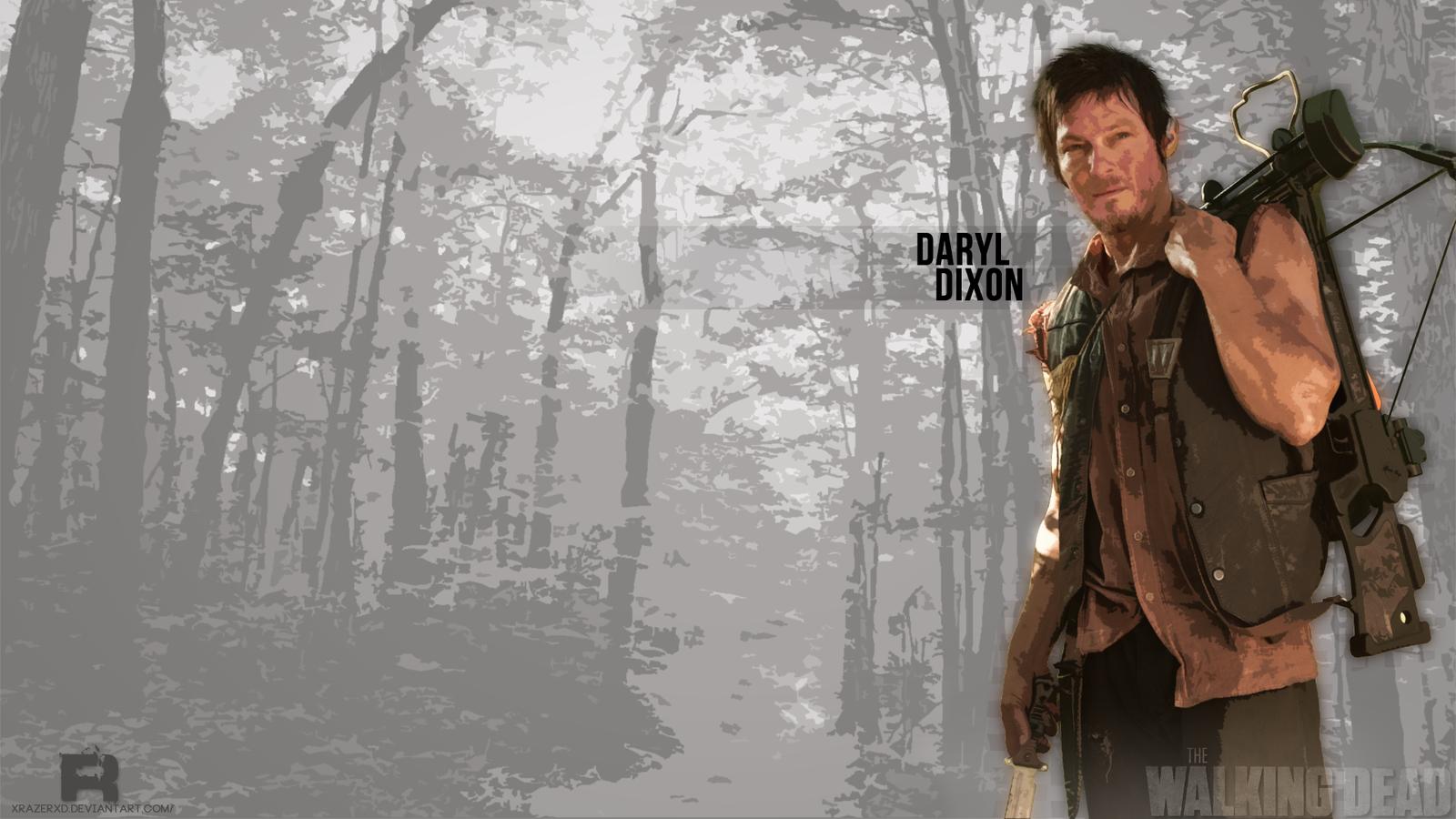 ... The Walking Dead : Daryl Dixon #REMAKE by xRazerxD