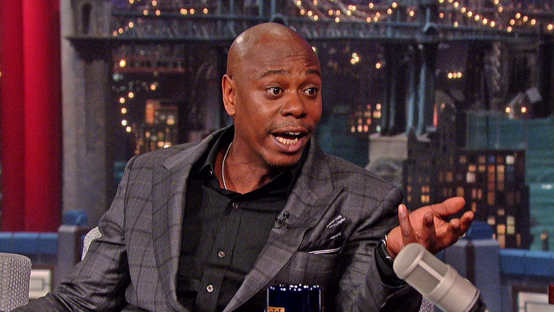 Letterman Asks Dave Chappelle Why He Left The Chappelle Show - GotHiphop