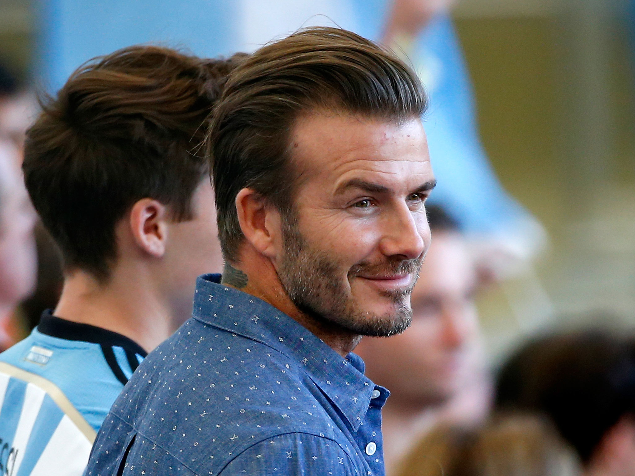 David Beckham on Scottish Independence: Sportsman urges nationals to vote 'No' and save the Union that is the 'envy of the world' - People - News - The ...