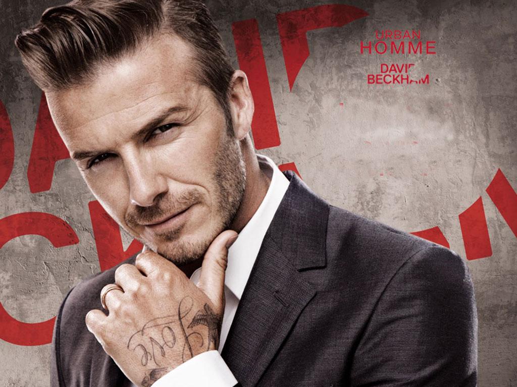 David Beckham David Beckham: Urban Homme - 2013